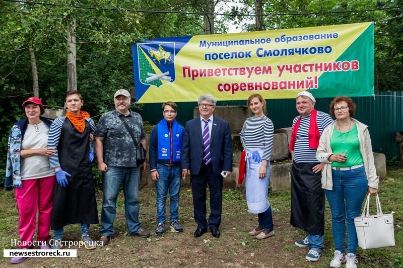 В Смолячково отметили «День рыбака» и сварили 120 литров «Смолячковской ухи»